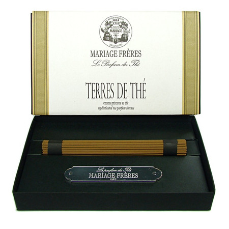 TERRE DE THÉ Precious tea scented incense  50 sticks