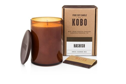KOBO Woodblock - Hashish - Candle