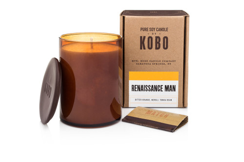 KOBO Woodblock - Renaissance Man - Candle
