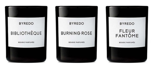 BYREDO - La Sélection Violette Mini Candle Set