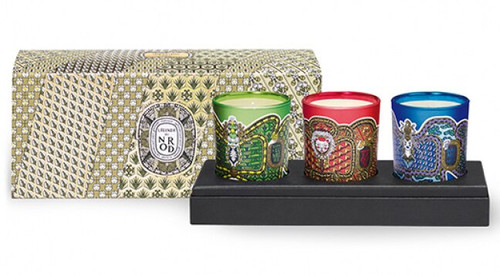 Diptyque ~ Limited Edition Holiday 2018 Mini Candle Coffret