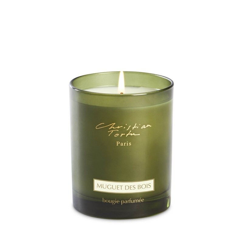 christian tortu muguet des bois lilly of the valley candle zgo