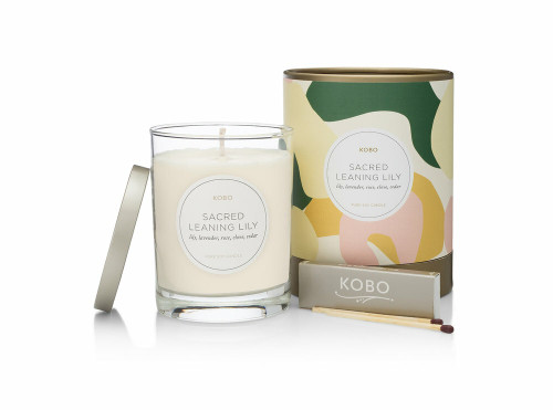 KOBO COMO - SARCED LEANING LILY - Candle