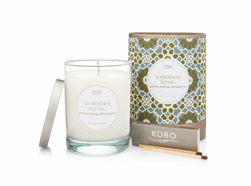 KOBO Motif - GARDENIA ROYAL - Candle