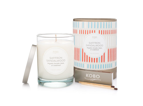 KOBO Natural Math - SAFFRON SANDALWOOD - Candle