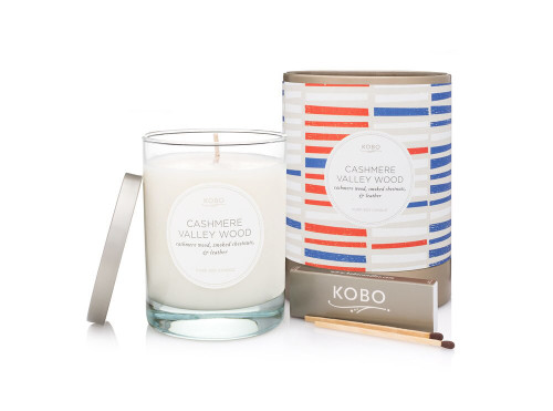 KOBO Natural Math - CASHMERE VALLEY WOOD - Candle