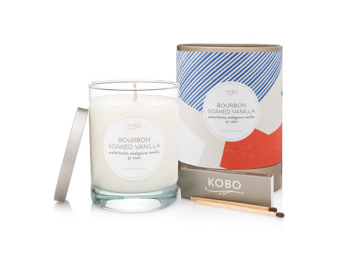 KOBO Natural Math - BOURBON SOAKED VANILLA - Candle