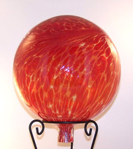 Red Gazing Ball