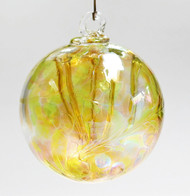 """Small Witch Ball """"September Sunset""""™ Iridized"""