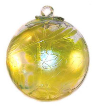 Yellow Witch Ball