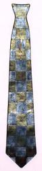 Glass Clock Necktie