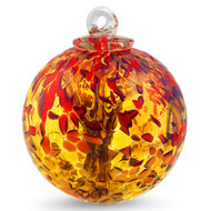 """Small Witch Ball """"FIRE"""""""