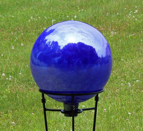 Cobalt Over Opal White Iridized