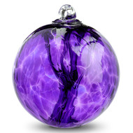 "Witch Ball ""Hyacinth"""