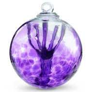 Witch Ball Violet Blue (purple)