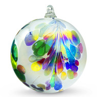 Crested Kugel Multi-Color Iridized