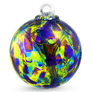 """Small Witch Ball """"Peace"""""""