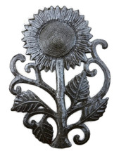 Metal Sunflower wall art - Haiti