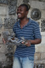 Haiti Metal Artist - Art under the tree