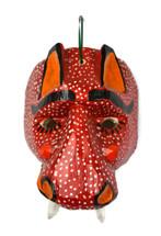 """Hand Carved Jaguar Mask 7.75"""" x 5"""" x 10"""""""