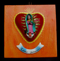 Ortega Guadalupe Plaque