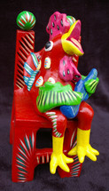 Ortega Rooster on Chair