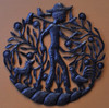 Haiti Metal Art Farmer , Father's Day gift idea