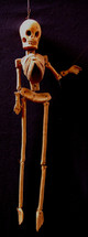 Ceramic Hanging Skeleton