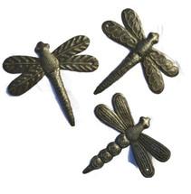 garden dragonflies, Haitian Metal Art