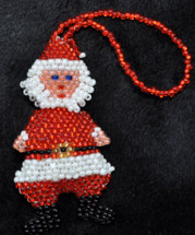 Beaded Santa Claus