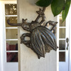 handmade metal beetle for your wall folk art from Haiti
