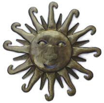metal sun, Haitian Art