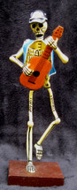 Day of the Dead Skeleton Retablo