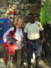 buying voodoo flags in Haiti