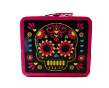 "Skull Lunch Box 7"" x 8"""