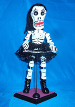 Day of the Dead Figure Piano Player