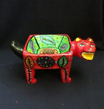 Whimsical Folk Art Hand Carved with a Machete Guatemala