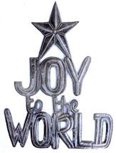 Joy to the World, Haiti metal wall art