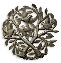 recycled fair trade metal art haiti tree