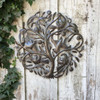 GARDEN ART TREE OF LIFE RECYCLED STEEL HAITI