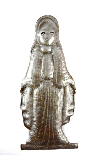 Madonna Virgin Mary - Haiti metal Wall Art