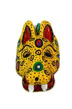 "Ornamental Hancrafted Tiger Mask 3"" x 4"""