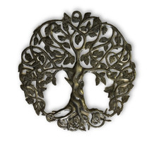 Haitian Metal Wall Art Traditional Tree of Life