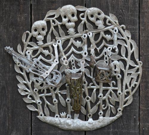Skeleton Rah Rah Band Haiti