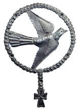 Holy art, Rosary Dove with cross, Haiti Metal Art, It's Cactus Metal Art Haiti