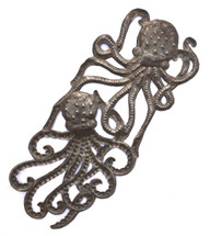octopus Haiti Metal Art, Under the Sea creatures, Handmade in Haiti