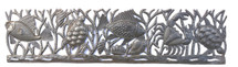 Haiti Metal Sea Life wall art