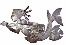 Haitian Metal Wall Art Mermaid