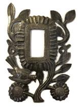 Electrical Metal Flower Switch Plate Rocker Cover, Handmade
