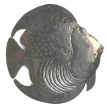 fish haitian metal wall art